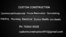 Custom Construction