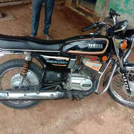 Yamaha RX 135 insurance fish KFC fresh