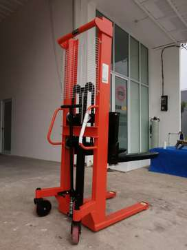 Jual hand stacker 2 ton 1.6 m - hand pallet - semi electric stacker