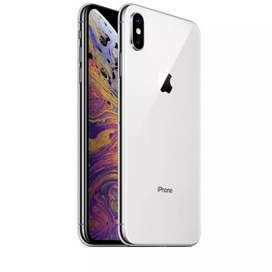 apple iphone xs silver color