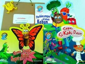 Buku Anak Bilingual Murah Full Color Kertas Art Paper Tema Sains