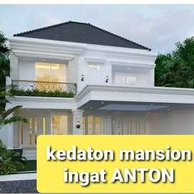 Rumah cluster private dual security kedaton mansion bsb city citraland