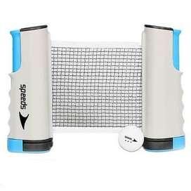 Universal net jaring tenis meja pingpong model tarik portable Speeds L