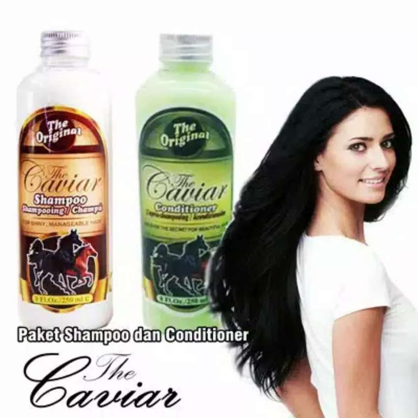 Paket Shampo Caviar ( shampo kuda ) Original ( Hati2 barang kw ) 0