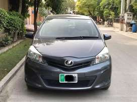 TOYOTA VITZ 2016 on easy installment