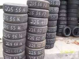 Good Condition Tyres for all Cars- Only 20% to 30% Used Tyres