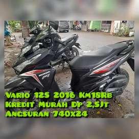 Vario 125cc 2016 Km18Rban Ori NoL Spet