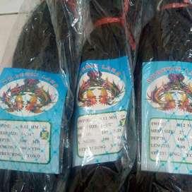 """jaring burung hitam 012 100mdx100yds UK 1 1/4"""" , 1 1/2"""" , 2 """""""