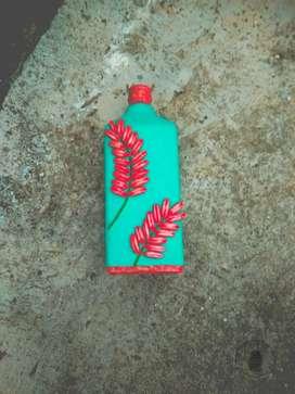 Hand made Bottle art