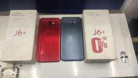 Samsung J6 plus  4/64gb  red & black colour price fixed price