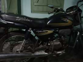 Splendor bike. Good for save ride.