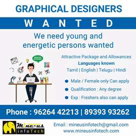 Graphical designers wanted
