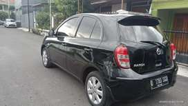 Nissan march XS 1,2 matic 2012 hitam ac digital
