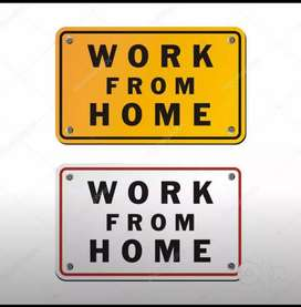 Data entry job online/offline part time job from home.
