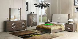 Ready stock Bed with side table dressing