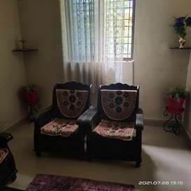 Two BHK flat for Guest house with fully fernished 3000/- per day
