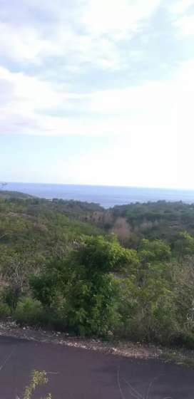Tanah 20 are Hrg 30jt/are  view laut Nusa Penida