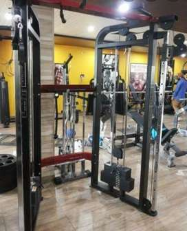 Full gym sale with all machines n equipments worth rs 15 lacs