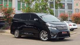 Toyota Vellfire 2.4 Z PS NIK 2011 PBD Perfect Condition !!!