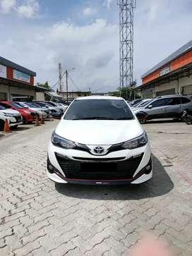 Toyota New Yaris TRD Sportivo AT Thn 2019 Putih Kilometer 10.000 Asli