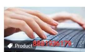 Mega openingfor back office data entry for MNC company...apply now