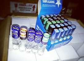 Parfum roll on 8ml Harga Ecer 1 box isi 25 botol harga 91.500