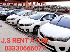 auto Corola for self drive Available karachi