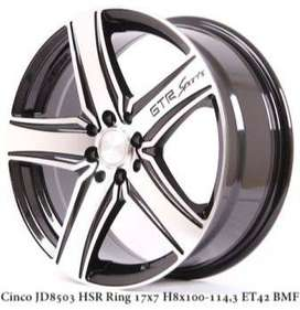 CINCO JD8503 HSR R17X7 H8X100-114,3 ET42 BMF