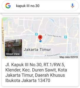 Kos Duren Sawit Jakarta Timur