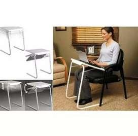 Meja Laptop Lipat Portable Table Mate II Laptop Putih serbaguna white