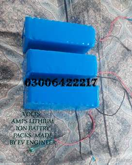 Lithium ion battries 12/24/36/48/60/72/96 volt for bckup systems & EVs