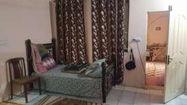 semi furnished portion available(only for girls)