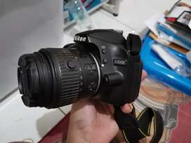 Dijual kamera nikon d3200 VR