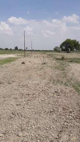 Plot for sale near mohanlalganj