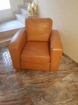 leather sofa singal and L shape