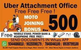 Hiring for Biker - UBER MOTO Chennai