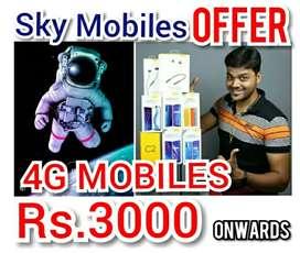 4G MOBILES Rs.3OOO onwards 'SKY MOBILES ' DIWALI BIG SALE OFFER