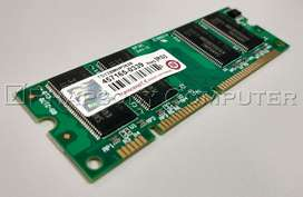 Transcend memory DDR 266MHz DIMM 100-pin 128 MB for HP Printer