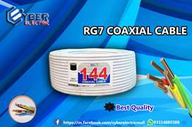 RG7 Coaxial Cable 1440 HD White