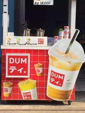 Franchise bekas DUM THAI TEA,bisa cicil cukup byr DP 50% lgsg kirim
