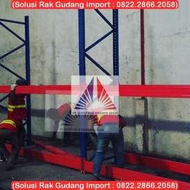 Solusi Rak Gudang Shelving Heavy Duty 150kg-8000Kg Siap Pasang