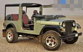 Modified mahindra thar jeep