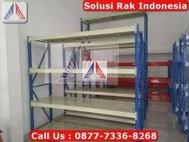 Solusi RAK GUDANG SHELVING Heavy Duty DACHANG Harga Pabrik