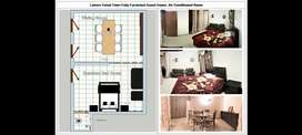 Guest house in Lahore family furnished room