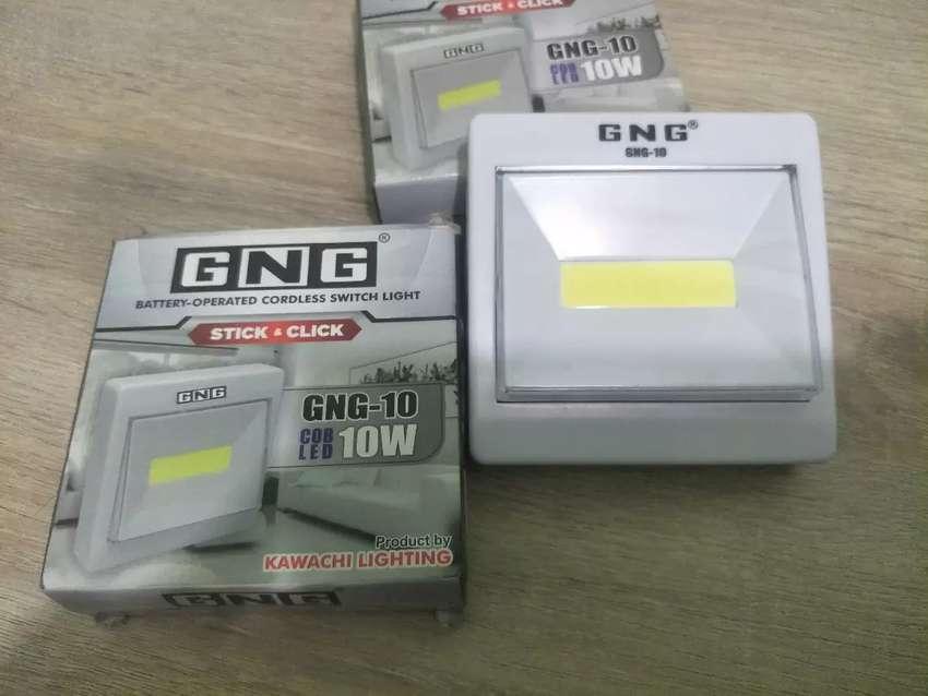 Lampu Led Emergensi GNG 10W + Baterai lampu Emergency Buat mati lampu