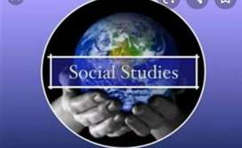 Online tuition for Social Studies