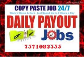 wanted genuine Part time home based data entry workers for genuine wor