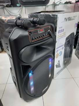 Speaker Portable Wireless NOISE 899 E Original 15 Inch Bluetooth - USB