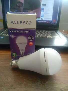 Lampu led dan emergency