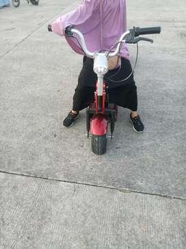 Sepeda Listrik Anak Bahan Besi Kokoh